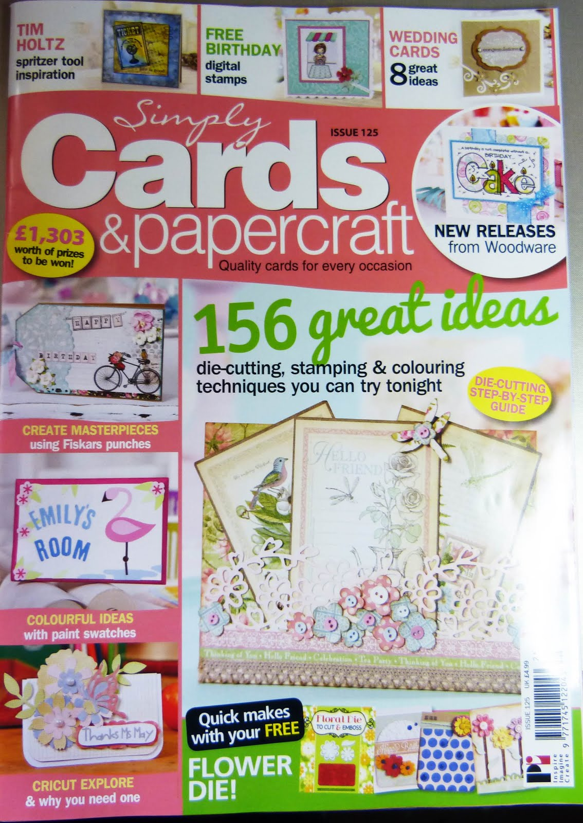 Published in Simply Cards & Papercrafts Issue 125