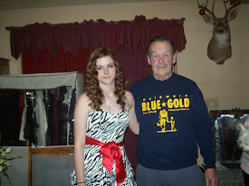 My beautiful niece, Laura and my daddy