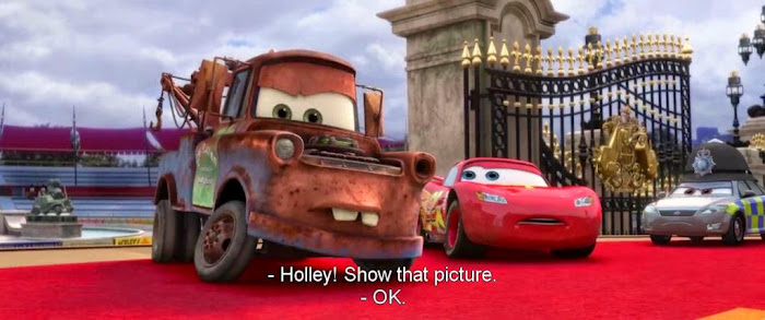 Watch Online Hollywood Movie Cars 2 (2011) In Hindi English On Putlocker