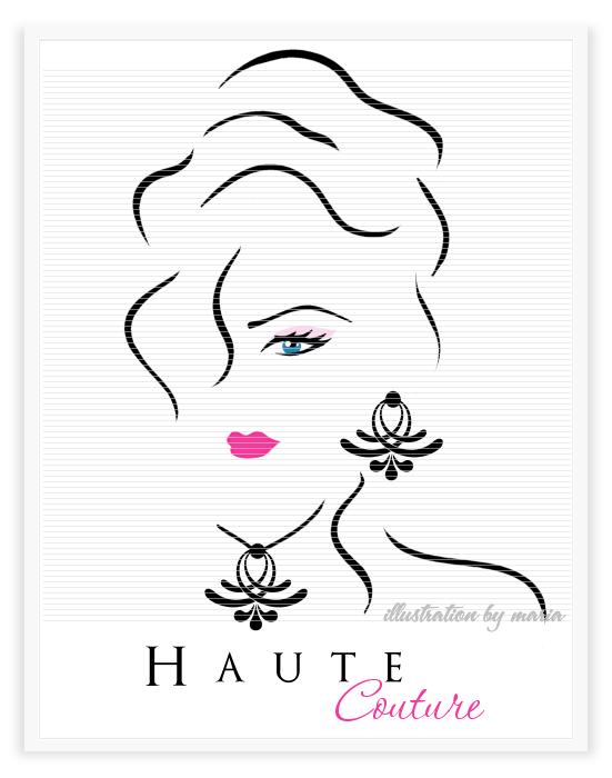 Logo diva feminine boutique logos girly girl logo for Haute couture designers names