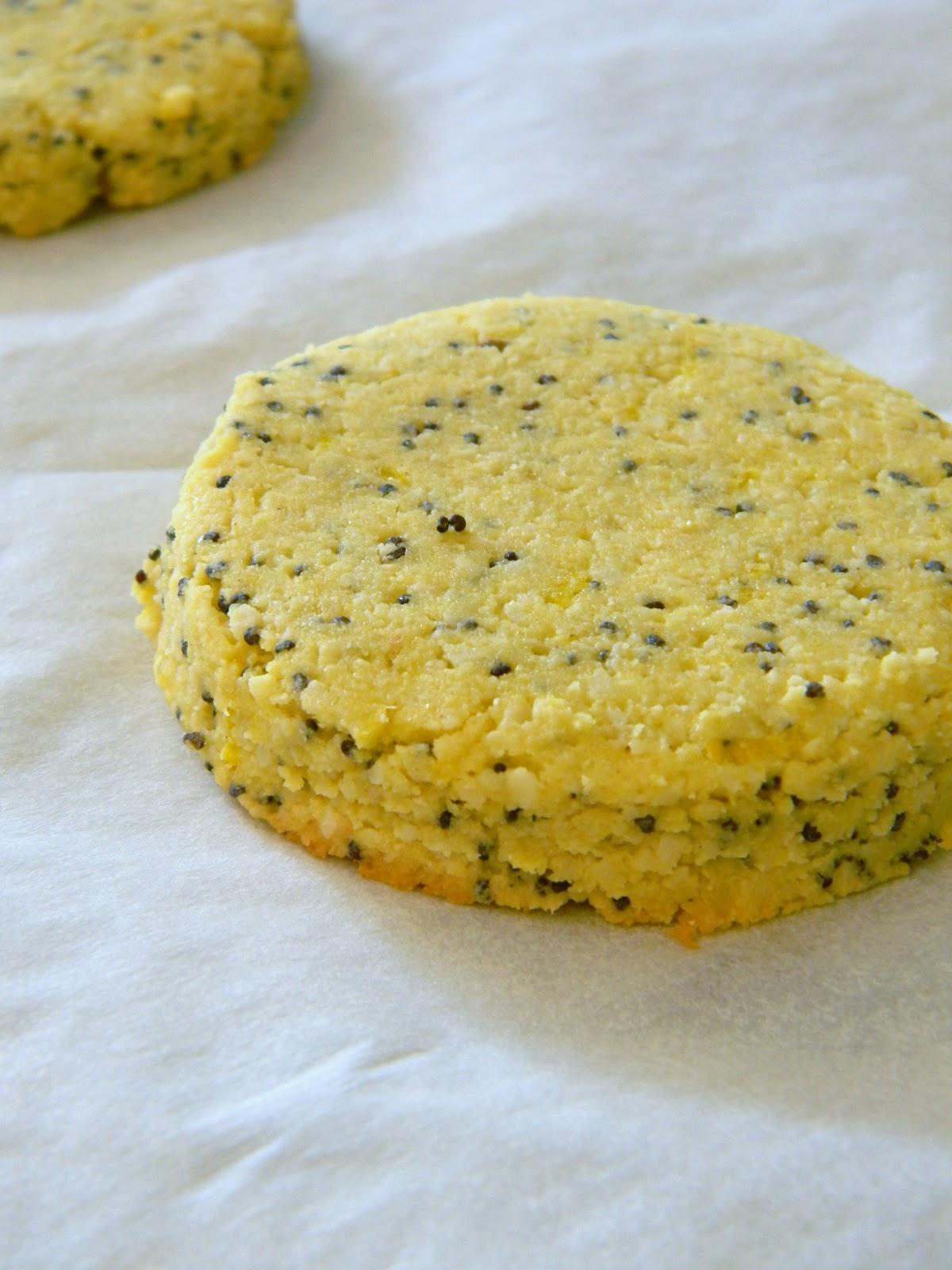 Gluten Free Lemon Poppy - Seed Cookies | What Smells So Good?