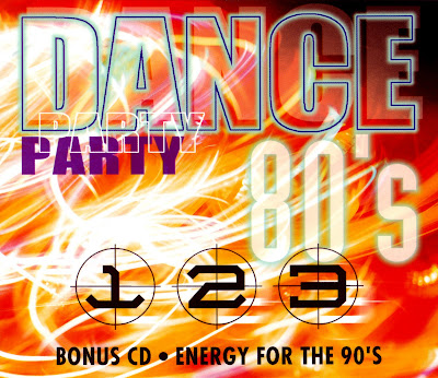 VA - DANCE PARTY 80's [4CD Set] various original artists Hi-NRG Disco Italo Eurobeat