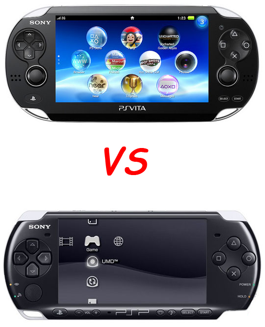 Playstation Vita Vs Psp : Ps vita replay vs psp
