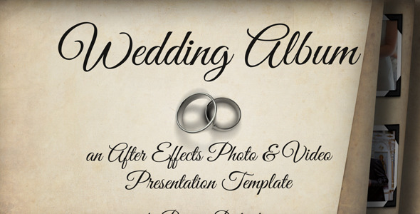 VideoHive Wedding Album