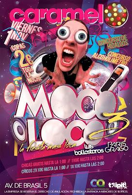 Moco Loco en la discoteca Caramelo