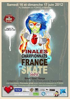 Championnat de France de skateboard 2012