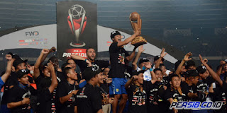 Rayakan Juara Piala Presiden