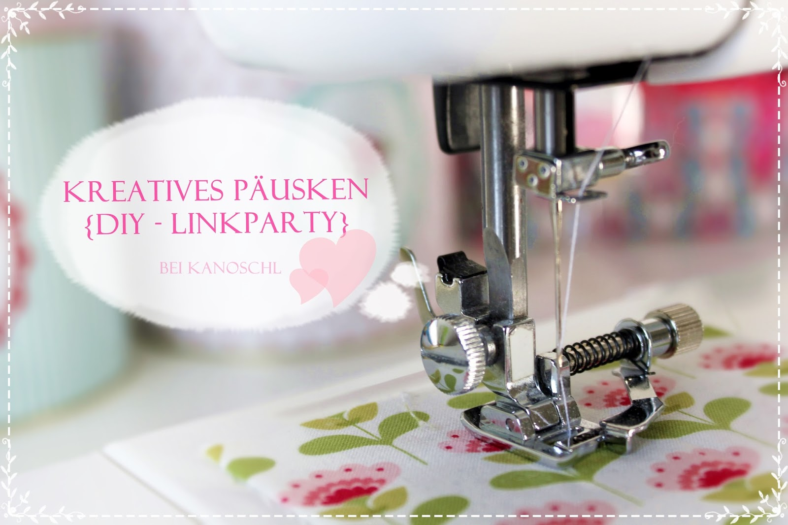 Tolle DIY-Linkparty bei Lisa ♥♥♥