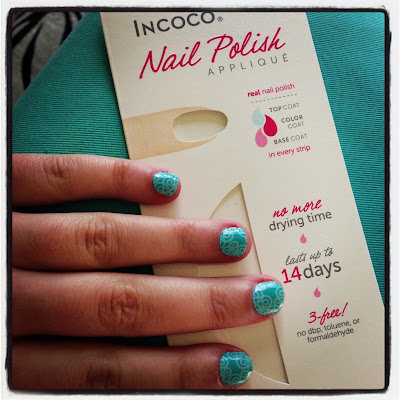 beauty, birchbox, fresh finds, incoc nail polish strips, manicure, manicure design, nail polish, nail stickers, nail art, spring vines, style, styling products, beauty product, beauty review, product review