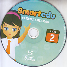toko buku rahma: buku CD PEMBELAJARAN SMART EDU, untuk kelas 2 sd