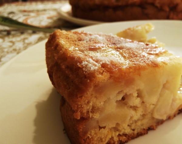 Cozinhadaduxa: Sharlotka ( Russian Apple Cake )