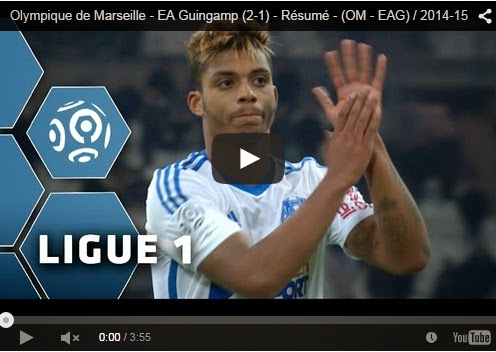 Highlights : Olympique Marseille 2-1 Guingamp