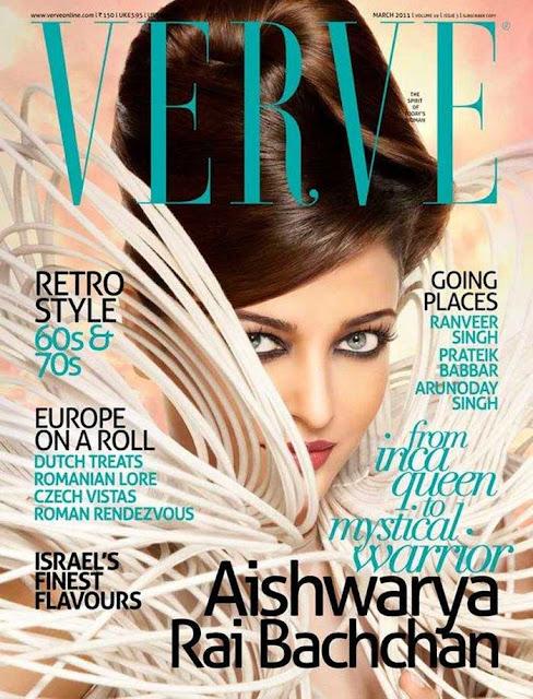 Aish on verve magazine