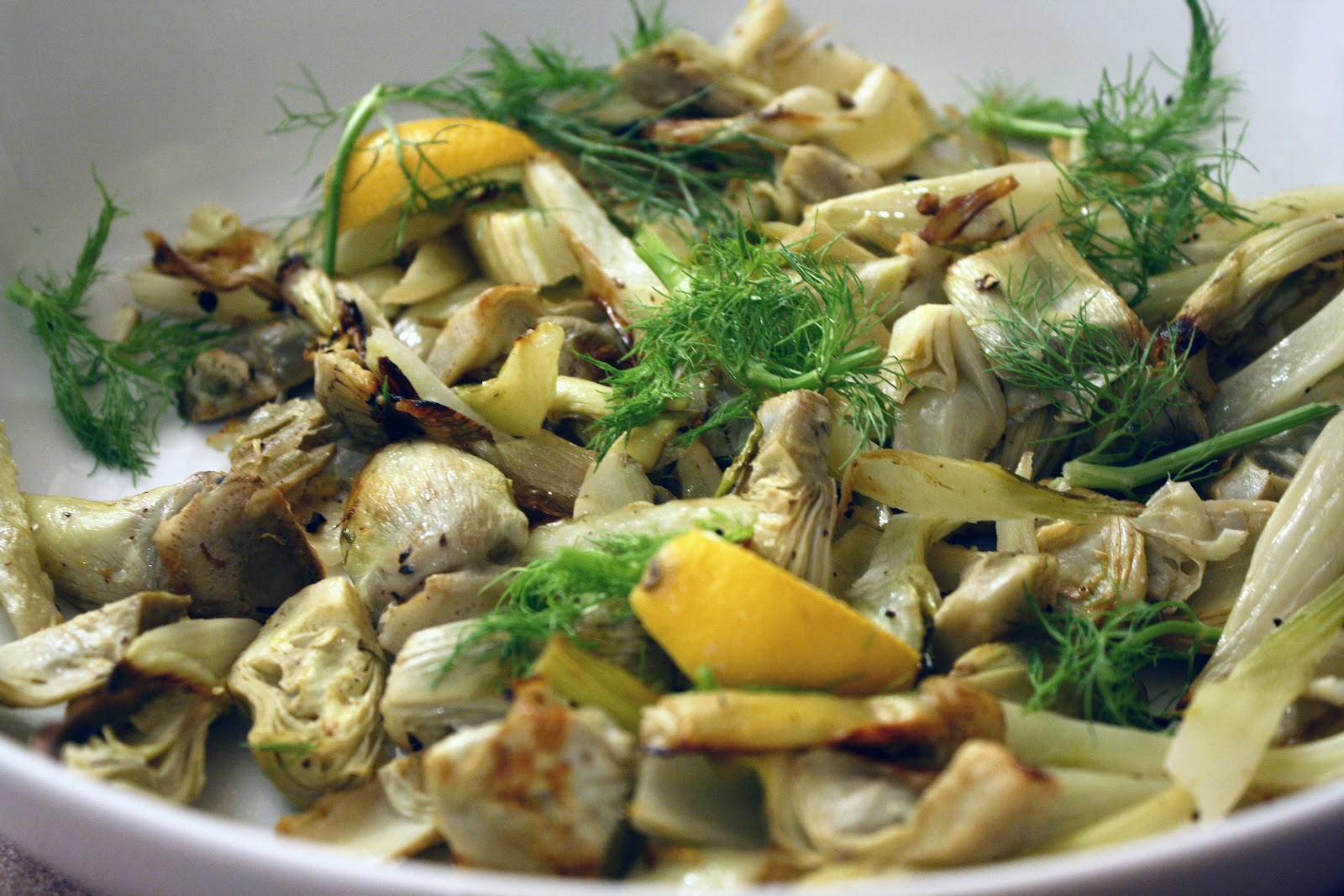 Bubbly Life: Roasted Fennel & Artichoke Hearts- Current Veggie ...