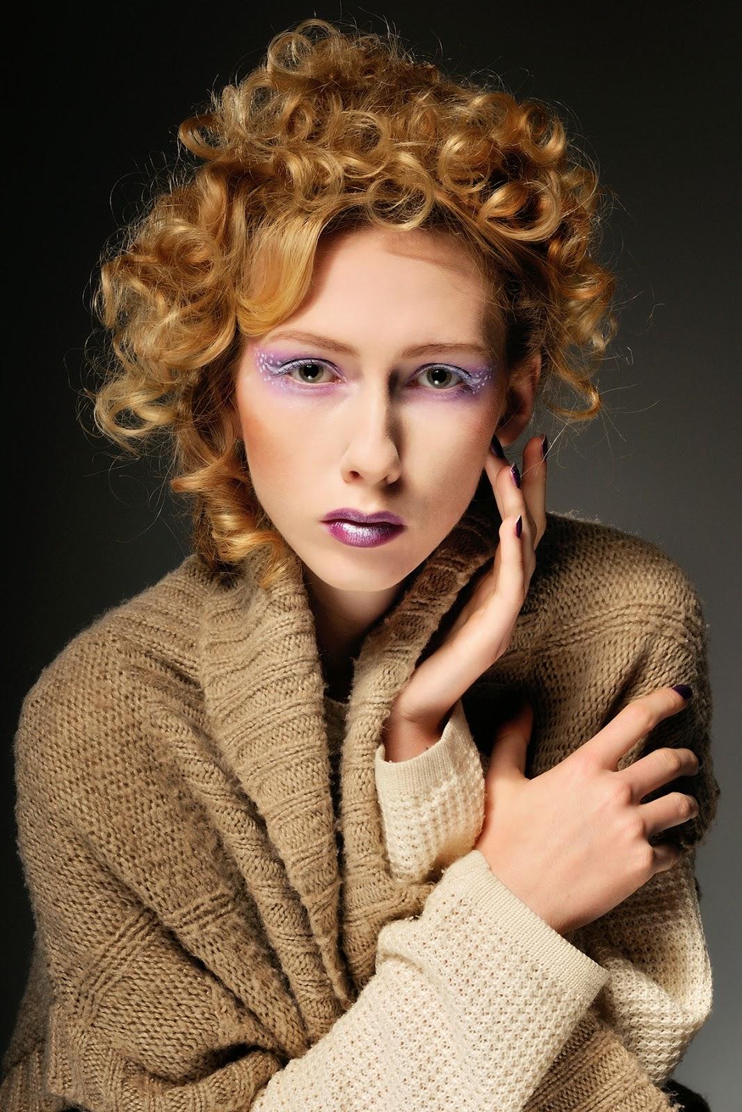 [157.] Zimowy makijaż.