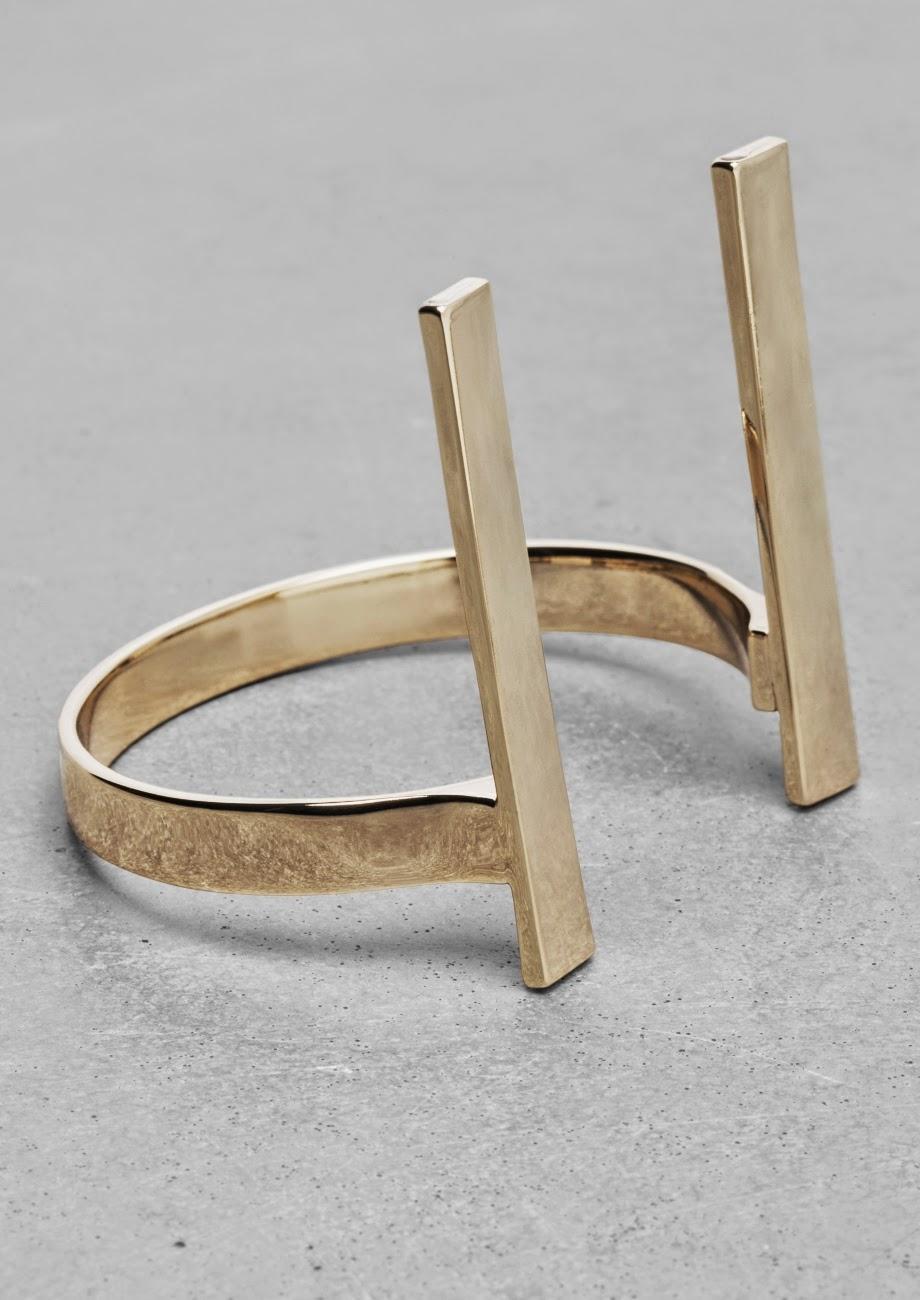 gold line cuff