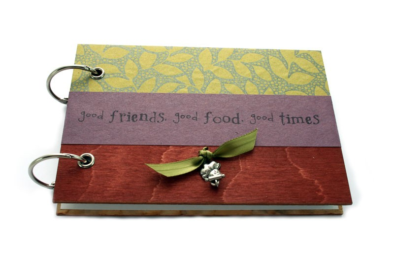 Heather paris handmade recipe book there is nothing better than making family recipes i made my mom a handmade recipe book with a 3 ring binder that i decorated and i made one for myself solutioingenieria Images