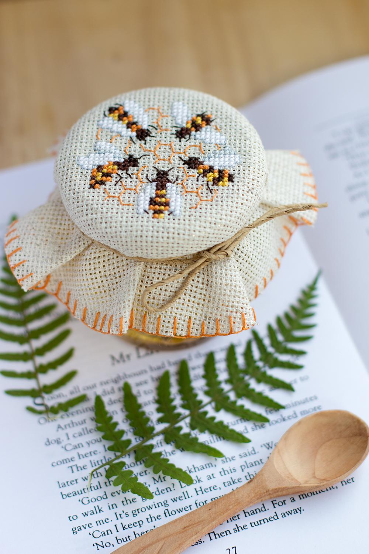 Схемы вышивка крестом мёд