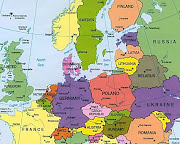 Here you have a map of Central Europe, where you can see which countries the .