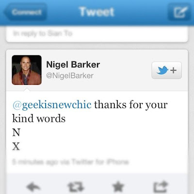 Nigel Barker Tweets