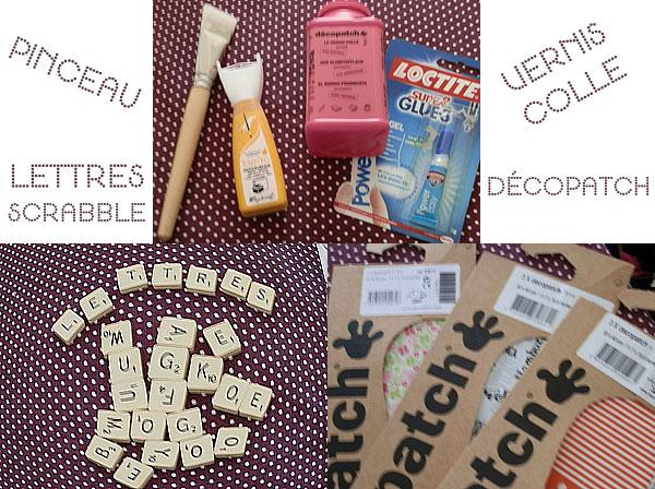 Diy Tableau L 39 Aide Des Lettres De Scrabble Blog Mode