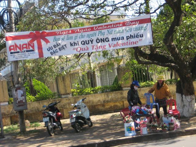 Hình ảnh Pleiku ngày Valentine 2012