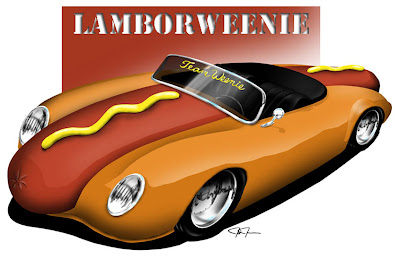 hot dog car: