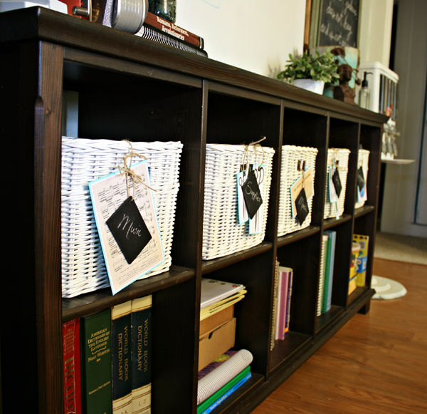 reader homeschool room