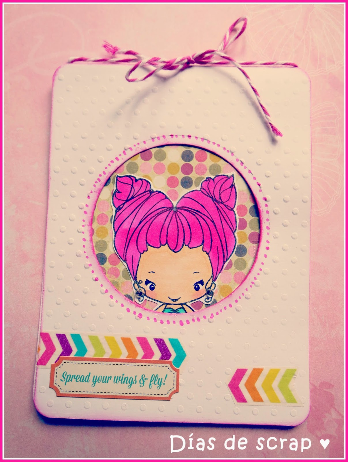 scrap Tarjeta reto FFF de The greeting farm