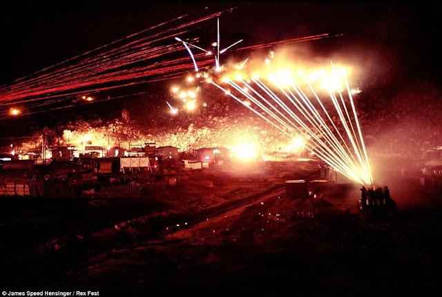 Vietnam: Disparando sobre un francotirador de noche