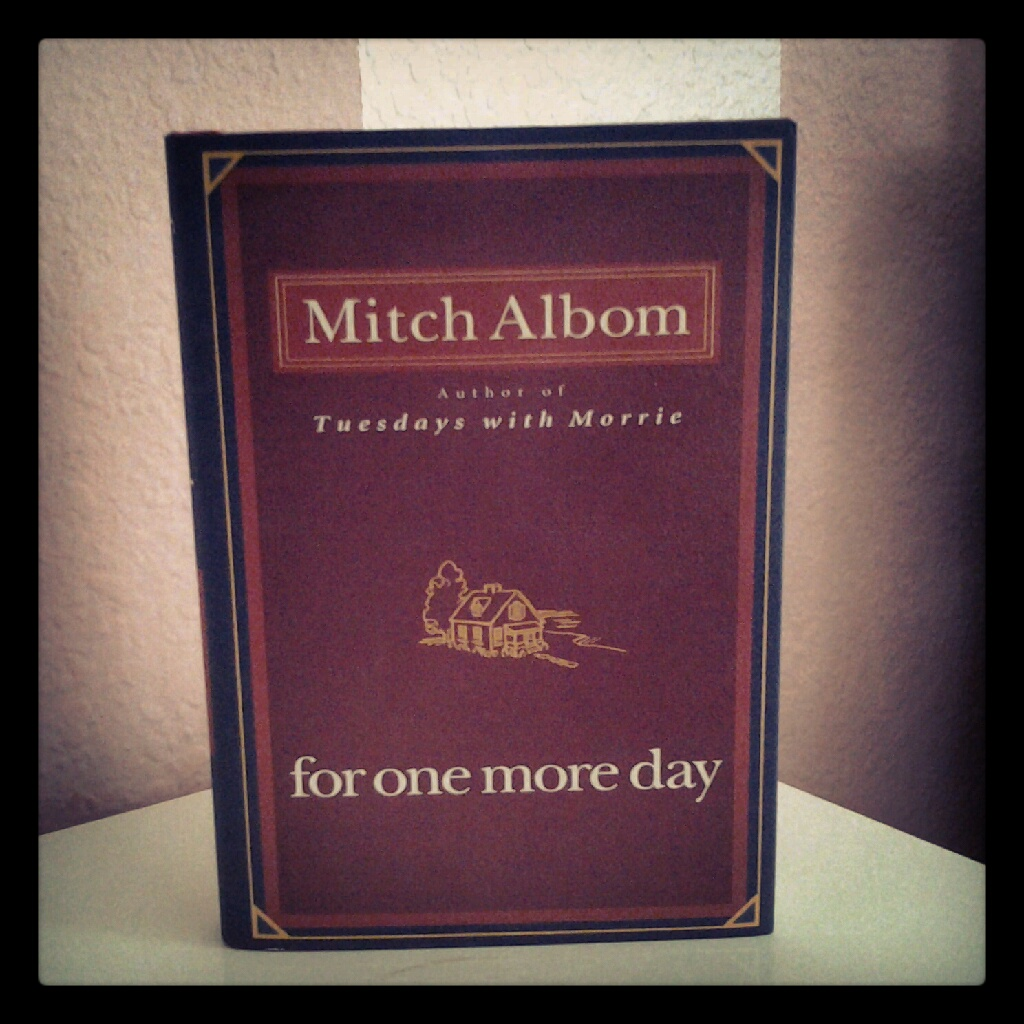 for one more day mitch albom essay For one more day study guide: do you lean one way more than the other essay questions - at least ½ page required.