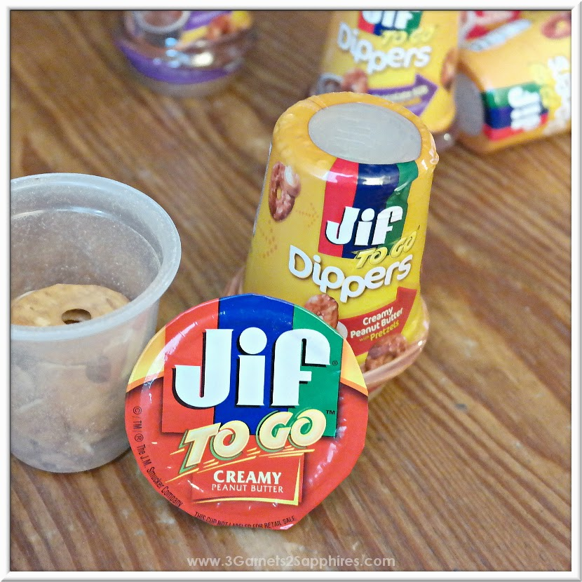 Jif To Go Dippers portable snack #GetGoing #MC