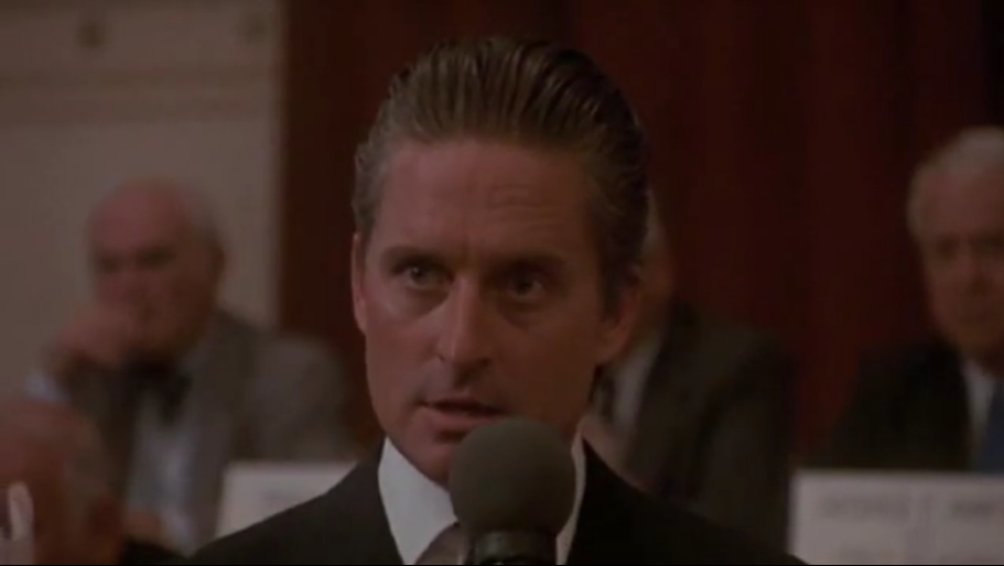 Michael Douglas won his only acting Oscar from his only acting nomination at ...