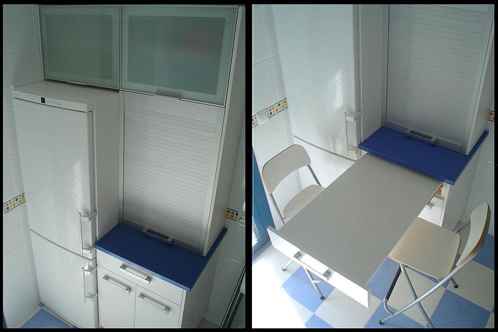 Cocinas armarios puertas parquet mesas extraibles - Mesa extraible cocina ...