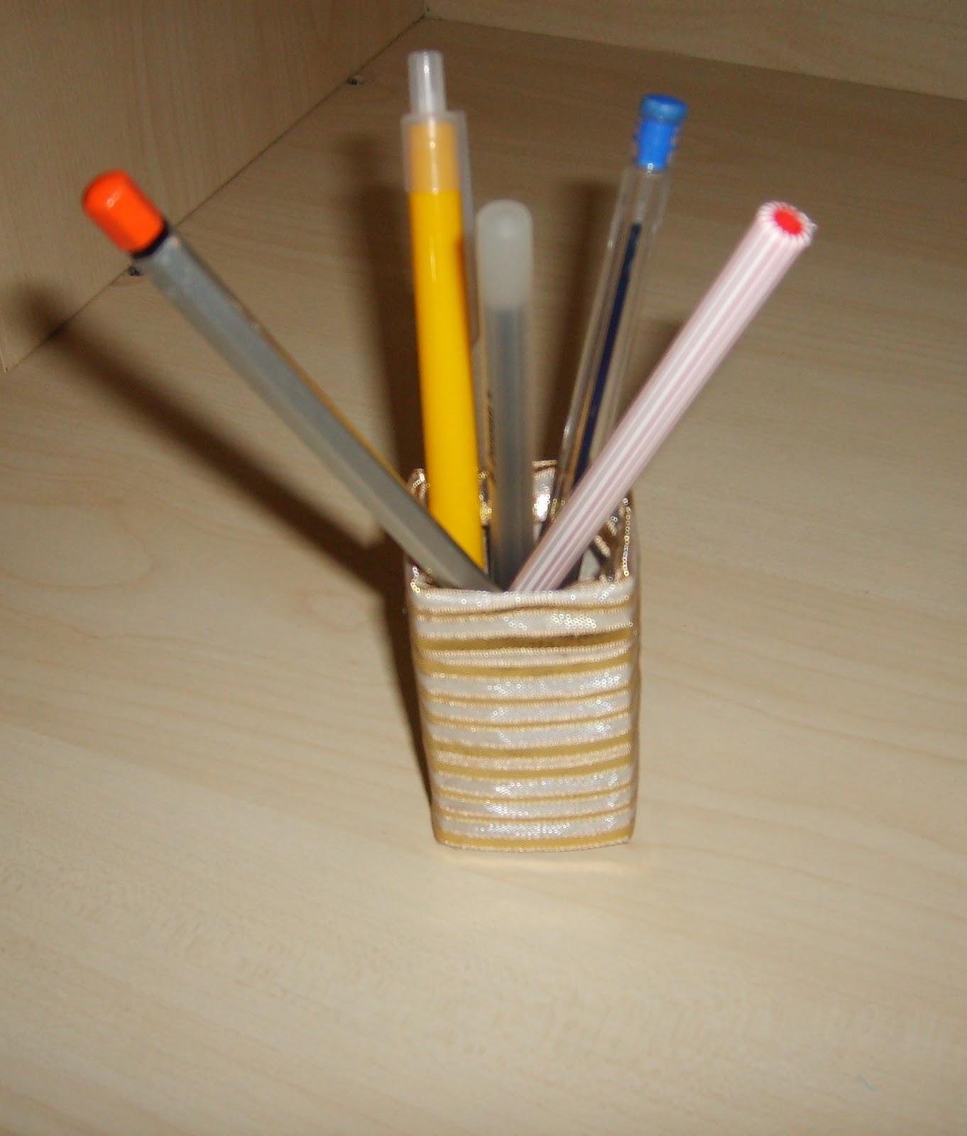 Dondurma Çubuklarıyla Kalemlik Yapımı