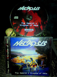 "NECROSIS''the search+kingdom of hate""album'88+demo'87"