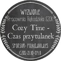 http://pracowniarekodzielaszok.blogspot.com/2014/10/wyzwanie-11-cozy-time-czas-przytulanek.html