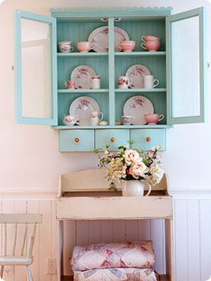 Turquoise and pink palette for interiors