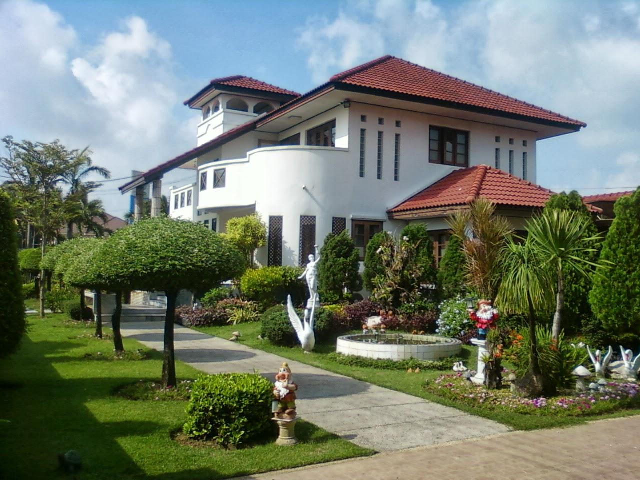 Model Desain Rumah Mewah Menggagumkan