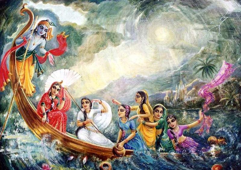 Popular Krishna Gopis Gopikas Photos for free download
