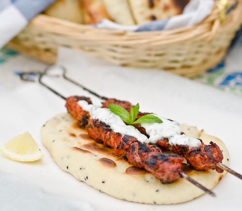 Enjoying Chicken Tikka or Tandoori Chicken served with Naan , takes me ...