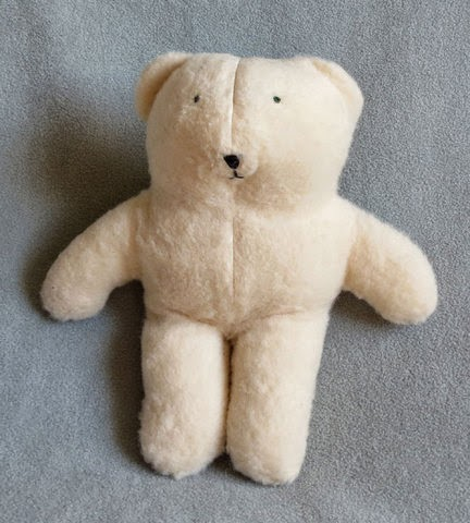 Cream-Colored Handmade Teddy Bear