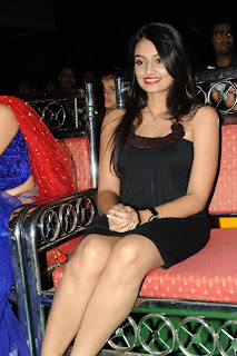 Actress Nikitha Narayan Pictures in Black Short Dress at Second Hand Telugu Movie Audio Launch  0009