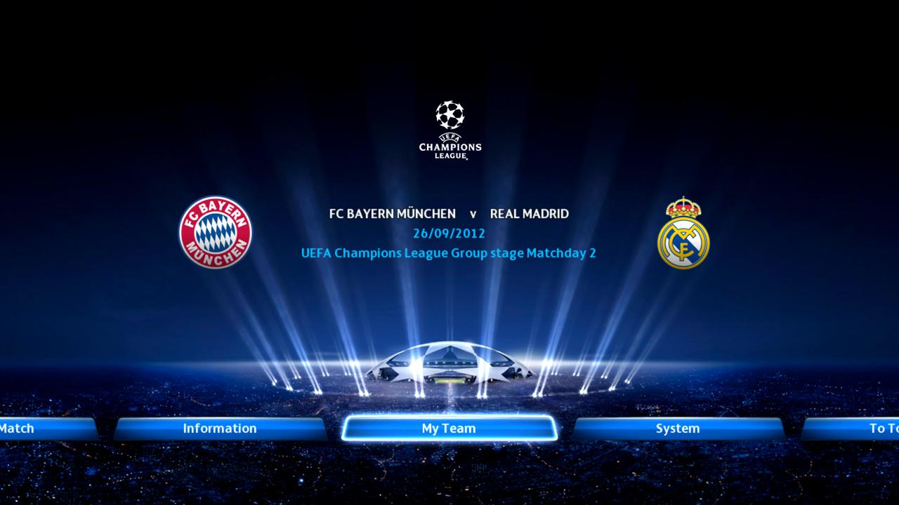 PES 2013: Nuevas imágenes de la UEFA Champions League