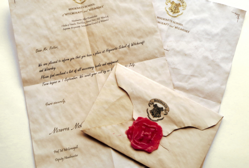 Potter Crafts DIY Hogwarts Letter