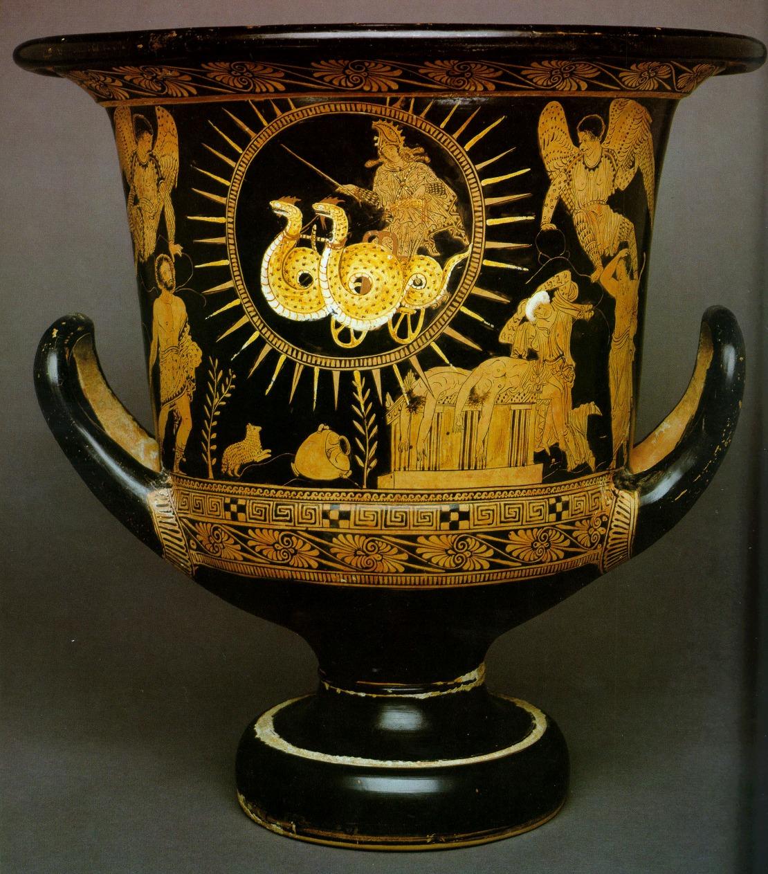 DRAGONS OF MEDEA (Drakones) - Serpents of Greek Mythology