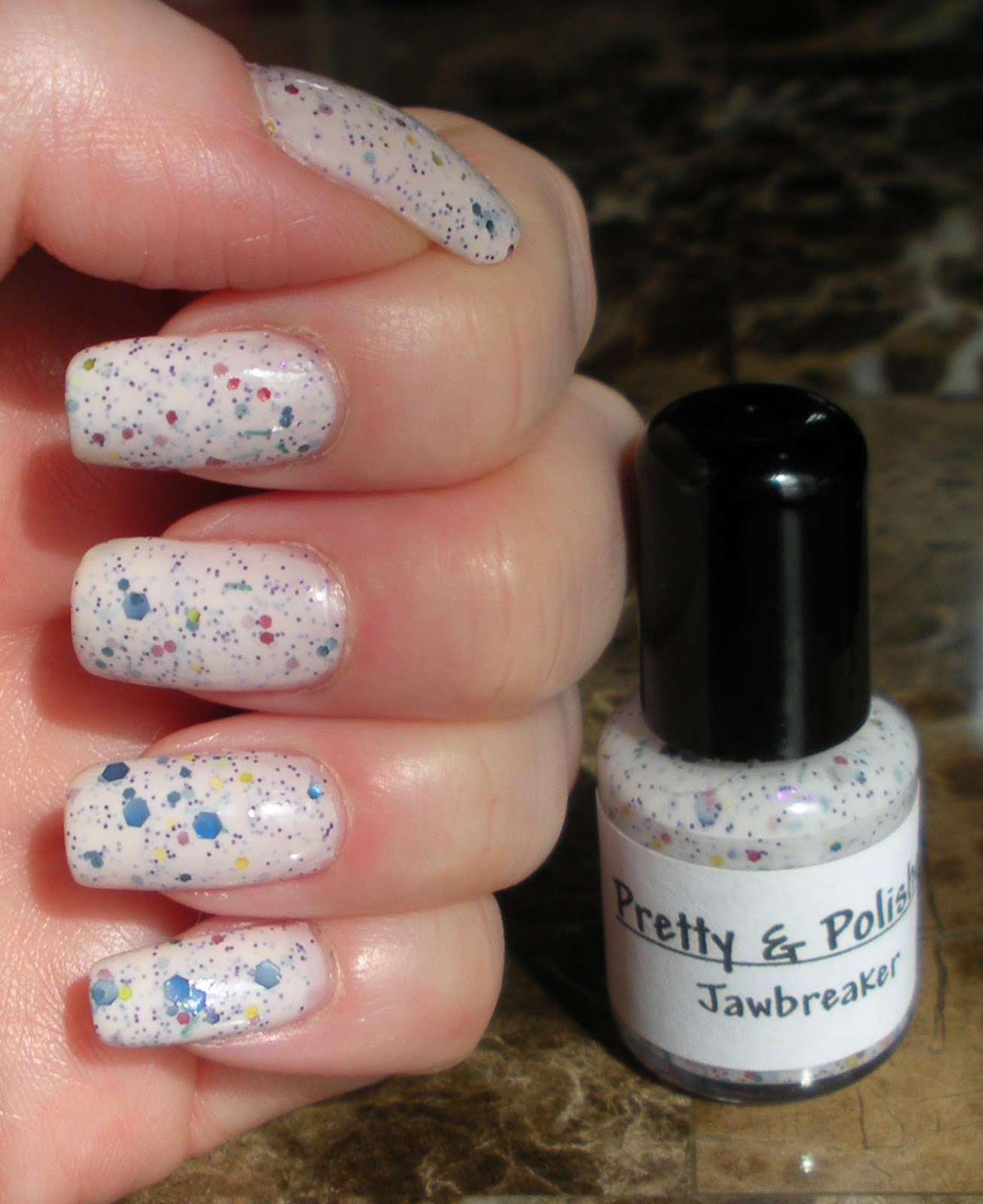 Blue Skies for Me Please: Pretty & Polished Jawbreaker - Indie Manicure