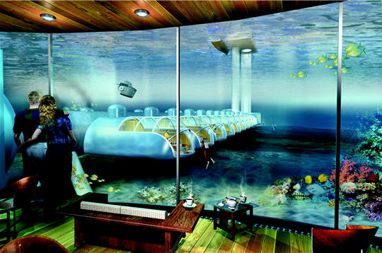 Hoteles novedosos islas fidji un lujo bajo el agua for Hotel bajo el agua precio
