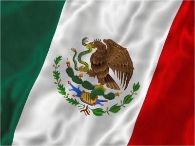 mexico flag. Poesia A La Bandera Mexicana.