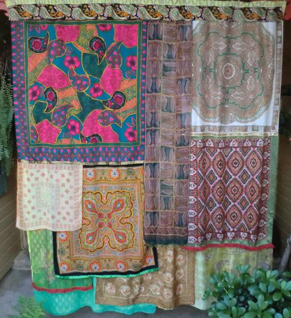 gypsy yaya bohemian gypsy shower curtains